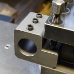 旋盤内径軽切削加工専用コンパクトホルダー