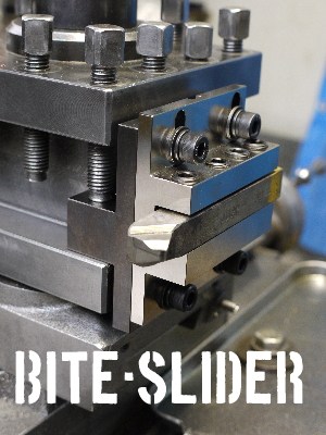 バイトスライダー【刃先芯高微調節式ホルダー】