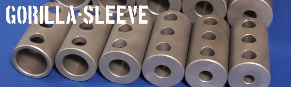 簡単に芯出しできるゴリラホルダー用の内径工具入れ替え用ゴリラスリーブ